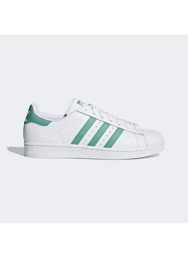 adidas Erkek Superstar Sneakers G27811 Beyaz